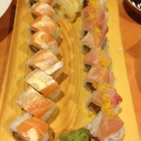 Photo taken at Yellowtail Japanese Bistro by Brent G. on 7/21/2012