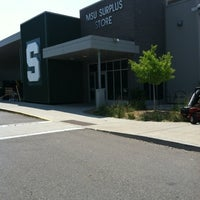 Photo taken at MSU Surplus Store by Christopher W. on 8/3/2012