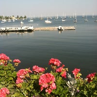 Photo taken at Larchmont Yacht Club by Annie M. on 6/21/2012