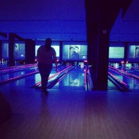 Photo taken at Bowlmor Cupertino by steph m. on 4/22/2012