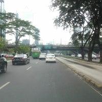 Photo taken at Jembatan Semanggi by Grace S. on 4/23/2012