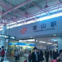 Photo taken at Kanayama Station by Yoshio O. on 5/13/2012