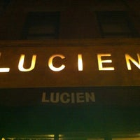 Photo taken at Lucien by Ariel H. on 3/3/2012