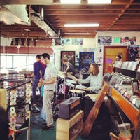 Photo taken at Rasputin Music by Sharon on 3/11/2012