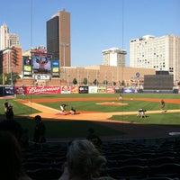 Photo taken at Fifth Third Field by Hannah on 7/23/2012