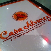 Photo taken at Casa Alvarez by Steve O. on 4/28/2012