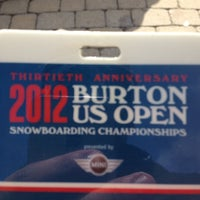 Photo taken at Burton US Open by Andres C. on 3/10/2012