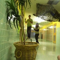 Photo taken at Immaculate Heart High School by Katie G. on 10/12/2011