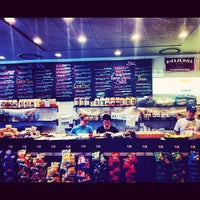 Photo taken at Chicago Bagel Authority by Blake S. on 5/13/2012