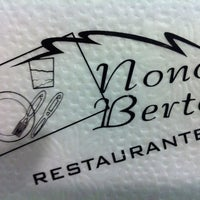 Photo taken at Restaurante Nono Berto by Lívia B. on 4/13/2012