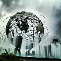 Photo taken at The Unisphere by Orlando on 8/1/2012