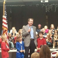 Photo taken at Arbor Creek Elementary by Heather K. on 11/11/2011