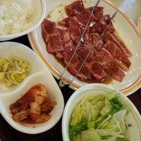 Photo taken at 焼き肉 宝島 市毛店 by AKiKO on 4/11/2012