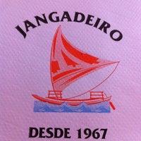 Photo taken at Jangadeiro by Luiz T. on 8/1/2011