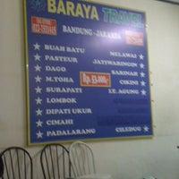 Photo taken at Baraya Travel by Awalia R. on 4/14/2012