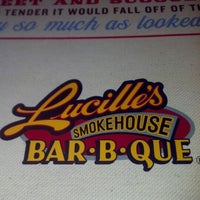 Photo taken at Lucille's Smokehouse Bar-B-Que by Hermie W. on 9/5/2012