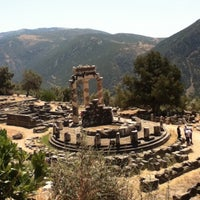 Photo taken at Archaeological Site of Delphi by Marisol Itzel G. on 7/26/2012