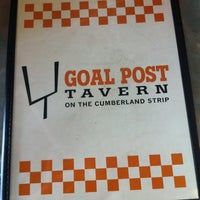 Photo taken at The Goal Post Tavern by Jessica H. on 6/27/2012