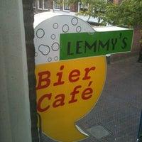 Photo taken at Lemmy's Biercafé by Lamberto V. on 9/13/2011