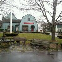 Photo taken at Olde Mystic Village by Cera C. on 12/31/2011