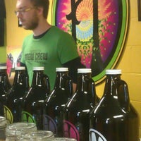 Photo taken at Harriet Brewing by Peace Coffee- Mel on 10/22/2011