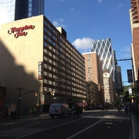 Photo taken at Hampton Inn Manhattan Times Square North by Marcelino P. on 9/6/2012