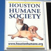 Photo taken at Houston Humane Society by Tony The Tiger on 9/28/2011