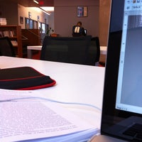 Photo taken at The Frank Lee Martin Journalism Library by Ninh P. on 1/27/2012
