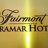 Photo taken at Fairmont Miramar Hotel & Bungalows by Sylvia D. on 10/20/2011