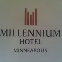 Photo taken at Millennium Hotel by Heidi G. on 6/19/2011