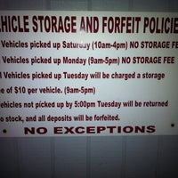 Blok Charity Auto Clearance Auto Dealership