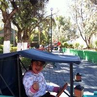 Photo taken at Parque del Cohete by Percy Eduardo F. on 8/6/2011