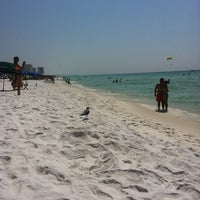 Photo taken at Destin Beach by Ashley on 8/18/2011