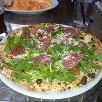 Photo taken at Bavaro's Pizza Napoletana & Pastaria by Brian K. on 4/2/2012
