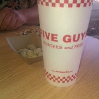 Photo taken at Five Guys by Jason H. on 10/25/2011