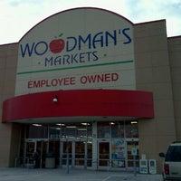 Photo taken at Woodman's Food Market by Dustin W. on 1/4/2012