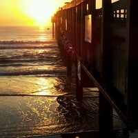 Photo taken at St. Augustine Pier by Michelle F. on 3/27/2012