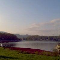 Photo taken at Team Redline Palace ~ Lake Chatuge, N.C. by Ryan J. on 4/2/2012
