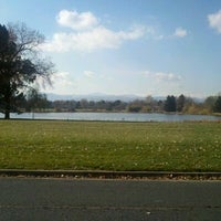 Photo taken at Huston Lake Park by Christopher G. on 11/8/2011