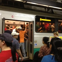 Photo taken at MBTA Green Line - B Train by Joe S. on 4/16/2012