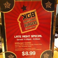 Photo taken at KGB: Kerry's Gourmet Burgers by Bryan H. on 3/17/2011