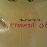 Photo taken at Piment d'Or by Toya K. on 8/19/2011