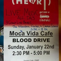 Photo taken at Mocha Vida Cafe by Derrick R K. on 1/22/2012