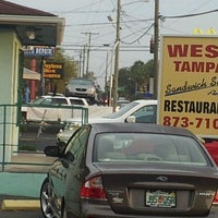 Photo taken at West Tampa Sandwich Shop by Luis F. on 2/27/2012
