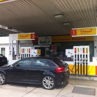 Photo taken at Shell Station by Juergen K. on 8/13/2011