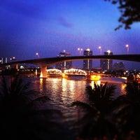 Photo taken at Anantara Bangkok Riverside Spa & Resort by =YuY= on 12/28/2011