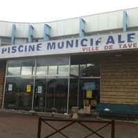 Photo taken at Piscine de Taverny by Danith Y. on 8/14/2011