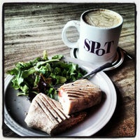 Photo taken at Spot Coffee Delaware Cafe by Mary S. on 4/30/2012