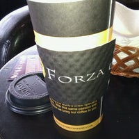 Photo taken at Forza Coffee by STEVE S. on 8/22/2011