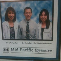 Photo taken at Mid pacific eyecare by Anthony S. on 9/29/2011